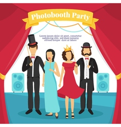 Photo Booth Party vector