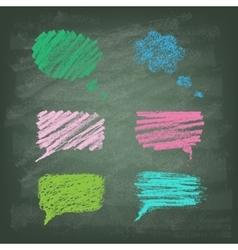 Set of Talking bubble vector image
