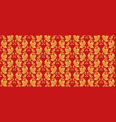 Hohloma seamless pattern russian traditional folk vector