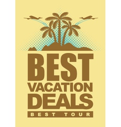 best deals for holiday vector image