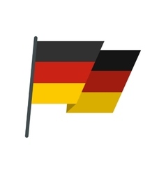 Flag of Germany icon flat style vector image