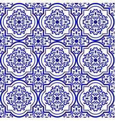 ceramic tile pattern background vector image