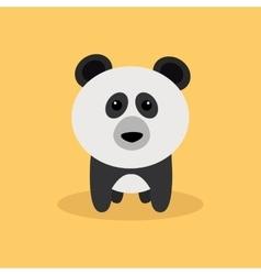 Cute Cartoon Panda vector image