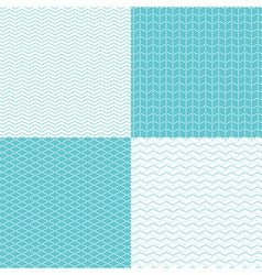 pattern dot waves vector image