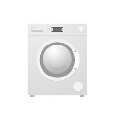 washing machine gray symbol vector image