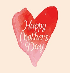 words happy mothers day vector image