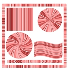 Pink Frame and Circles vector image