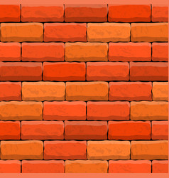 brick wall texture beautiful banner wallpaper vector image
