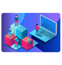 concept computer technology vector image