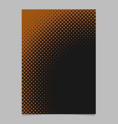 Halftone circle pattern background flyer template vector