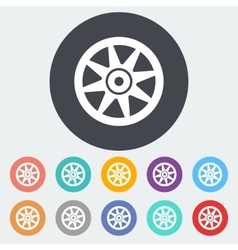 Icon Car drive vector image