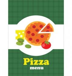 Italian restaurant menu vector image