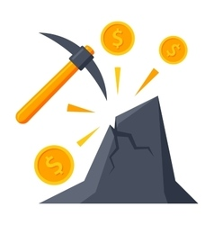 Making Money Concept vector image