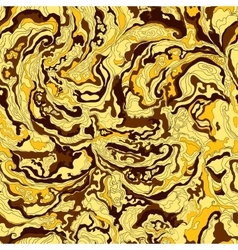 Pattern with the image texture of smoke golden vector
