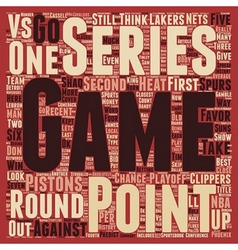 Second round should be an instant classic text vector