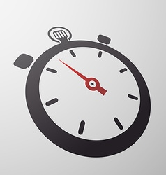 sport stopwatch Stock vector image vector image