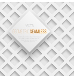 abstract seamless geometric square pattern vector image