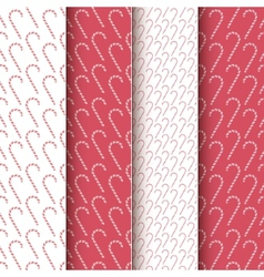 Christmas Candy Patterns vector