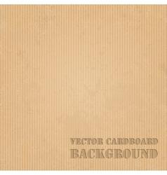 Cardboard grunge paper texture background vector image vector image