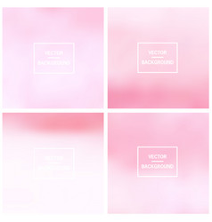 Abstract blurred backgrounds vector