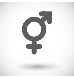 Bisexuals sign vector image