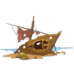 Cartoon underwater vector