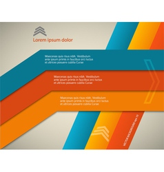 horizontal page brochure cover lines background vector image vector image