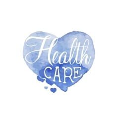 Health Care Beauty Promo Sign vector image vector image