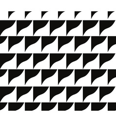 Ornate mosaic seamless pattern geometric vector image