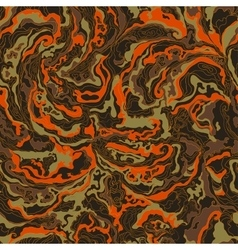 pattern with the image texture of smoke brown vector image vector image