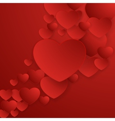 Valentines Day abstract background EPS 10 vector image vector image
