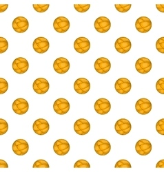 Ball of yarn pattern cartoon style vector image