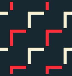 Endless diagonal flow seamless pattern vector
