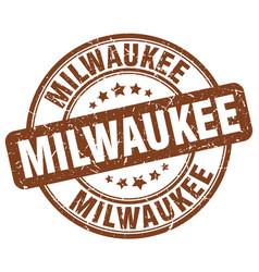 Milwaukee stamp vector