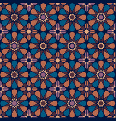 moroccan pattern vector image