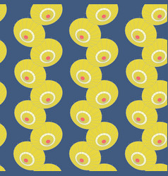 Seamless pattern with lines japan umbrellas vector