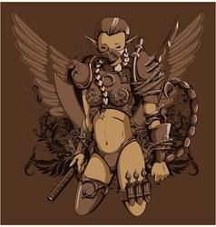 zodiac tshirt design vector image vector image