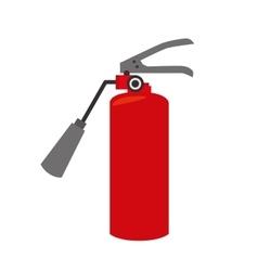 Fire extinguisher equipement service emergency vector