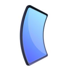 Flex smartphone icon cartoon style vector