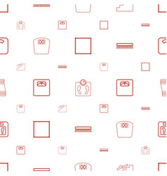 Floor icons pattern seamless white background vector