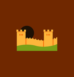 Great wall of china vector