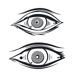Horus eye vector