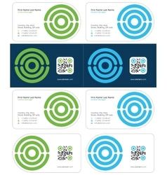Optimal business card 2 vector