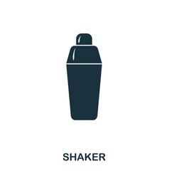 shaker icon line style icon design ui vector image