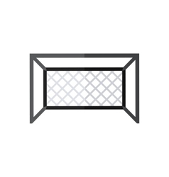 Soccer goal icon vector image