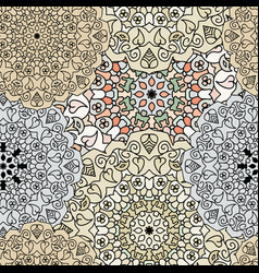 ethnic oriental seamless pattern vector image