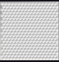 hexagon halftone vector image vector image