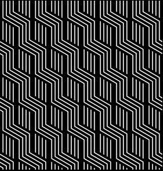 Seamless zigzag lines pattern vector