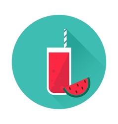 Watermelon juice icon vector image vector image