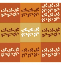 floral seasonal background vector image vector image